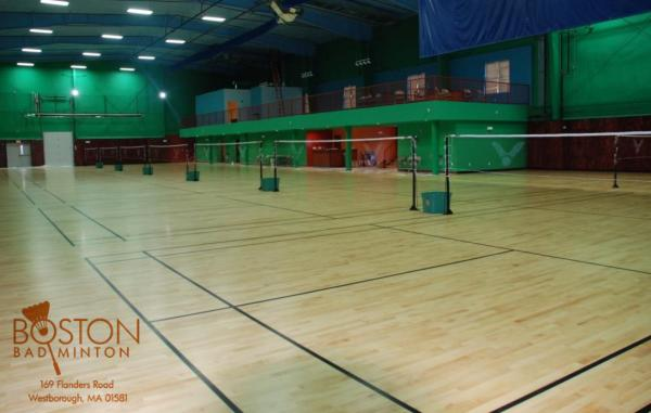 Boston Badminton courts