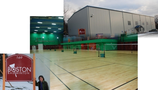 Boston Badminton Construction Pics